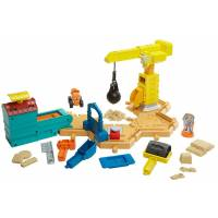 Fisher-Price Стройплощадка Боб Строитель c кинетическим песком Bob the Builder Mash & Mold Construction Site
